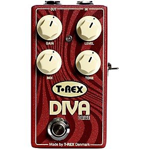 T-Rex Engineering Diva Overdrive Guitar Effects Pedal by T Rex Engineering