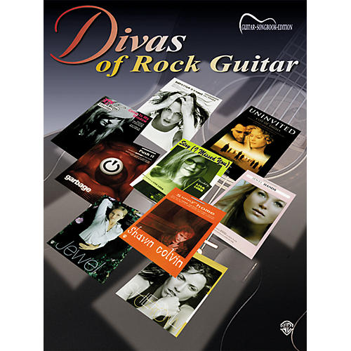 Alfred Divas of Rock Guitar Book-thumbnail