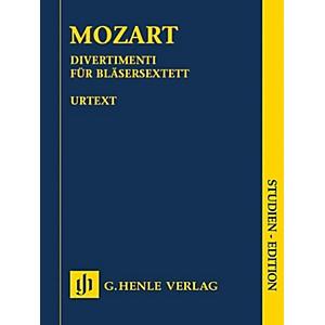 G. Henle Verlag Divertimenti for 2 Oboes, 2 Horns and 2 Bassoons Henle Stud... by G. Henle Verlag