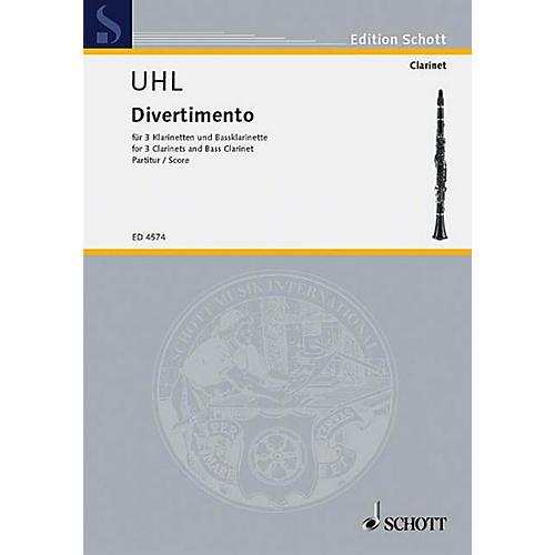 Schott Divertimento (Score) Schott Series Composed by Alfred Uhl