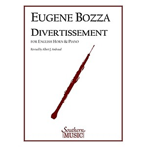 Southern Divertissement English Horn Southern Music Series Composed by Eu... by Southern