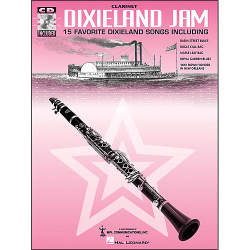 Hal Leonard Dixieland Jam - 15 Favorite Dixieland Songs for Clarinet Book/CD Pkg-thumbnail