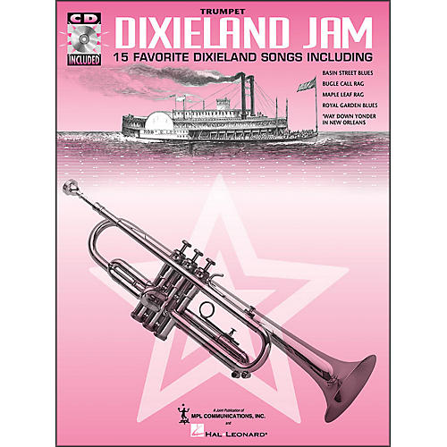 Hal Leonard Dixieland Jam - 15 Favorite Dixieland Songs for Trumpet Book/CD-thumbnail