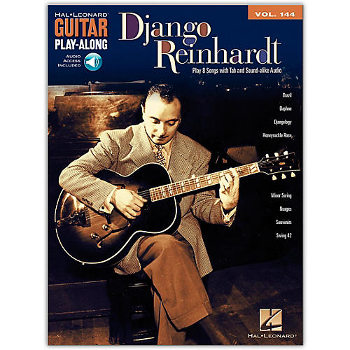 Hal Leonard Django Reinhardt - Guitar Play-Along Volume 144 (Book/Online Audio)-thumbnail