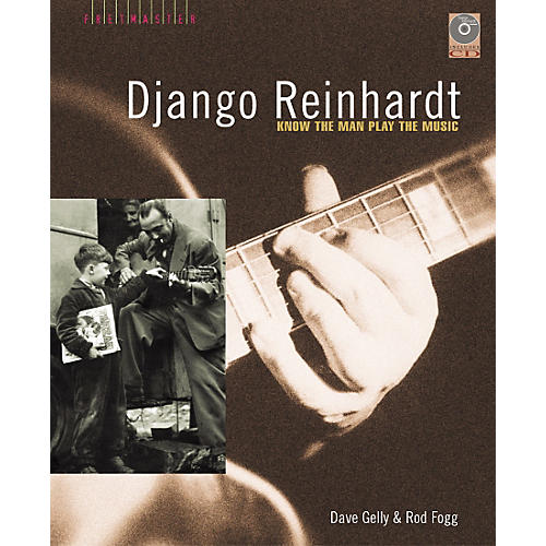 Backbeat Books Django Reinhardt (Book/CD)