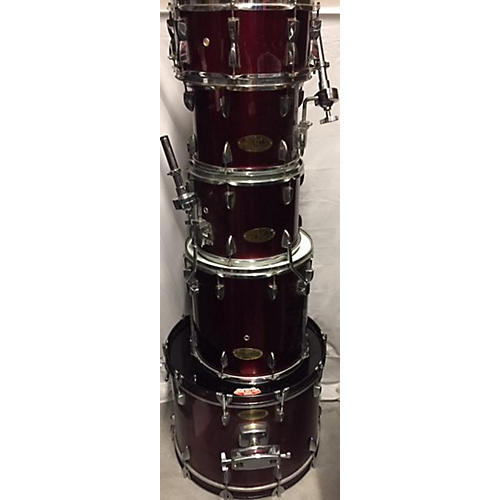 used groove percussion dk120wrb drum kit guitar center. Black Bedroom Furniture Sets. Home Design Ideas