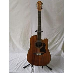 used hohner dk500ce acoustic electric guitar koa guitar center. Black Bedroom Furniture Sets. Home Design Ideas