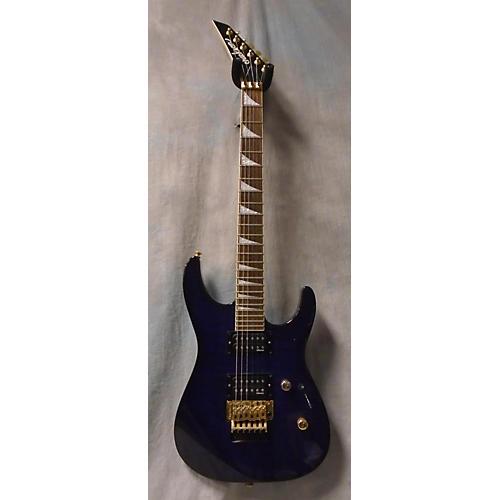 Jackson Dkdm-q Trans Purple Solid Body Electric Guitar-thumbnail