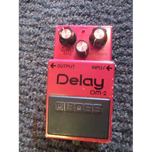 Boss Dm-2 MIJ Red Effect Pedal