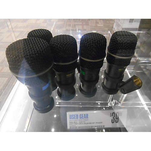 used nady dm70 drum mic set trigger pad guitar center. Black Bedroom Furniture Sets. Home Design Ideas