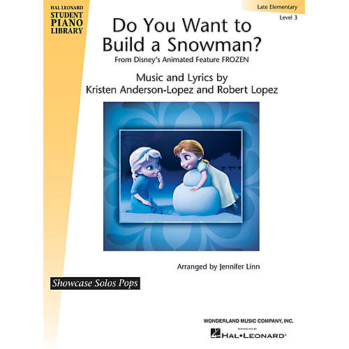 Hal Leonard Do You Want to Build a Snowman? (from Frozen) Piano Library Series (Level Late Elem)