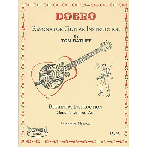Morrell Music Dobro Resonator Guitar Instruction Book