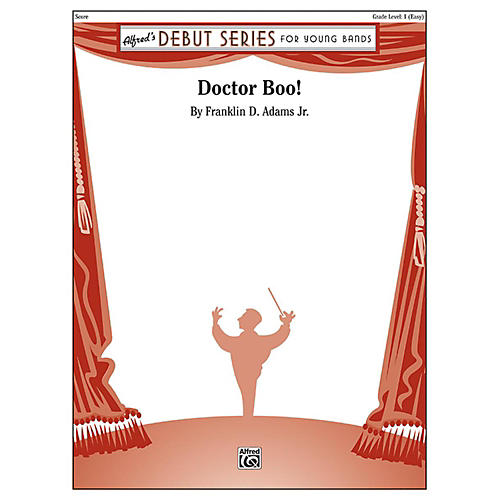 Alfred Doctor Boo! Concert Band Grade 1-thumbnail