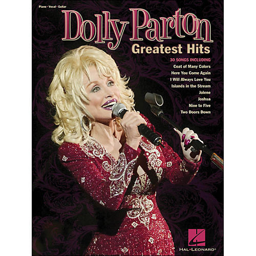 Hal Leonard Dolly Parton - Greatest Hits arranged for piano, vocal, and guitar (P/V/G)-thumbnail