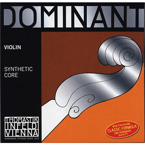 Thomastik Dominant 1/2 Size Violin Strings 1/2 Steel E String, Ball End