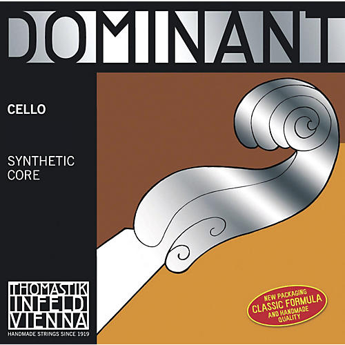 Thomastik Dominant 4/4 Size Light (Weich) Cello Strings 4/4 Set