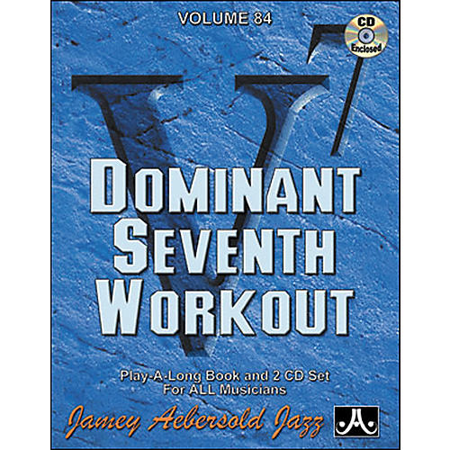Jamey Aebersold Dominant Seventh Workout Book and CDs-thumbnail