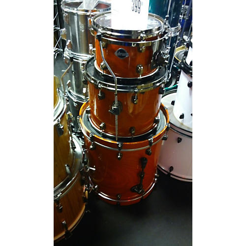 Ddrum Dominion Ash Drum Kit Orange