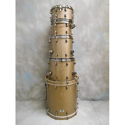Ddrum Dominion Ash Drum Kit java sparkle