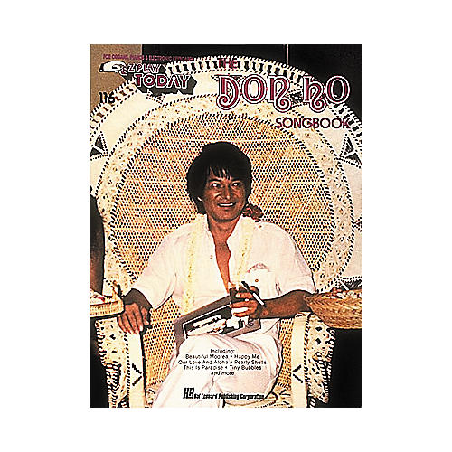 Hal Leonard Don Ho Songbook