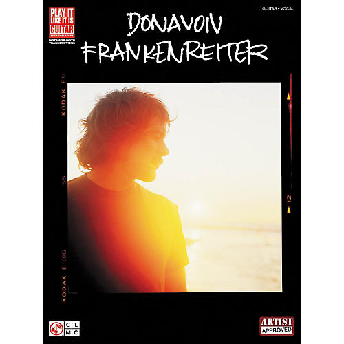 Hal Leonard Donavon Frankenreiter Guitar Tab Songbook-thumbnail