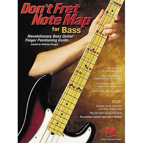 Hal Leonard Don't Fret Note Map for Bass Book-thumbnail