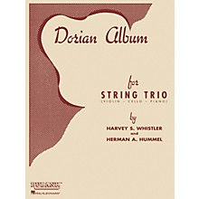 Rubank Publications Dorian Album (Violin, Cello and Piano) Ensemble Collection Series Arranged by Harvey S. Whistler