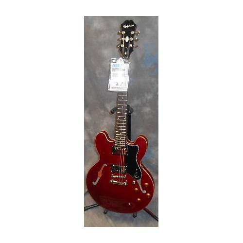 Epiphone Dot Deluxe Flametop LH Electric Guitar