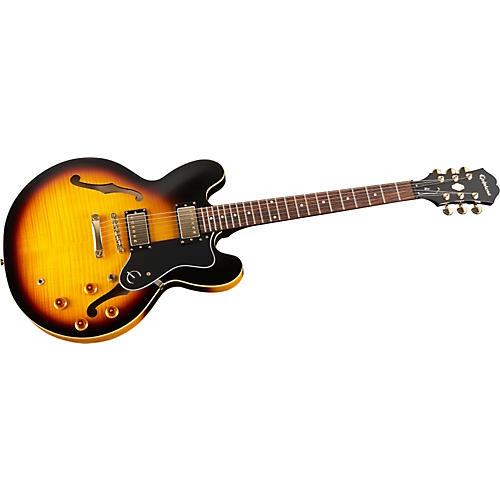 Epiphone Dot Deluxe Flametop Semi-Hollowbody Electric Guitar