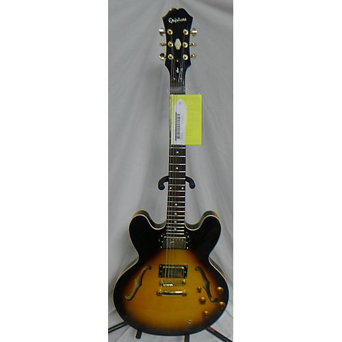 used epiphone dot deluxe vs hollow body electric guitar guitar center. Black Bedroom Furniture Sets. Home Design Ideas
