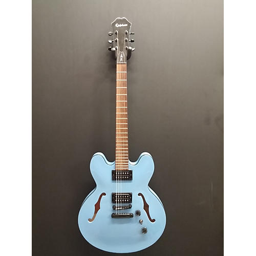 Epiphone Dot Studio Ice Blue Metallic Hollow Body Electric Guitar-thumbnail