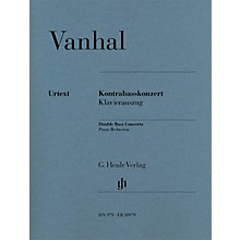 G. Henle Verlag Double Bass Concerto (Double Bass with Piano Reduction) Henle Music Folios Series