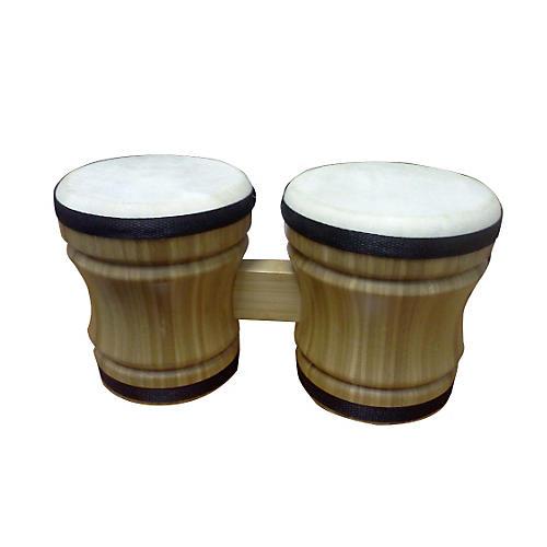 Rhythm Band Double Bongo Bamboo