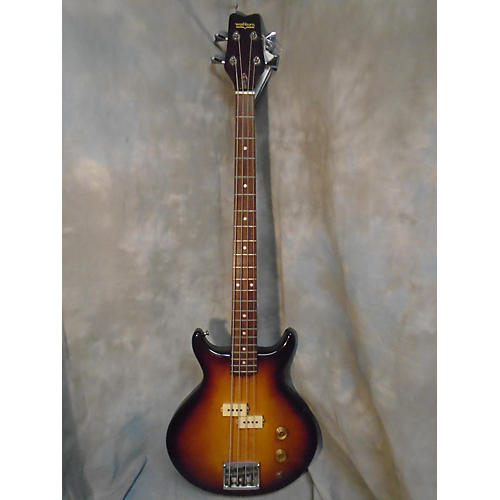 Washburn Double Cut Electric Bass Guitar-thumbnail