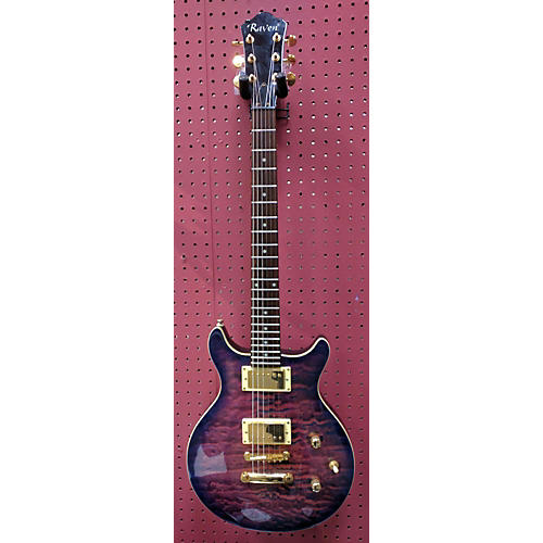Raven Double Cut LP Style Solid Body Electric Guitar