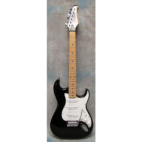 Silvertone Double Cut Solid Body Electric Guitar-thumbnail