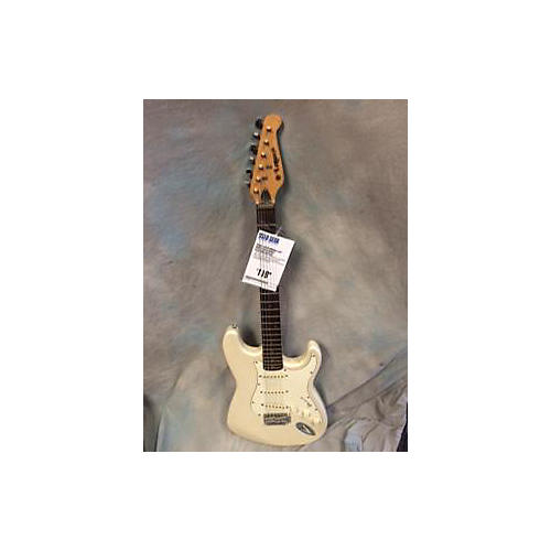 Lotus Double Cut Solid Body Electric Guitar-thumbnail