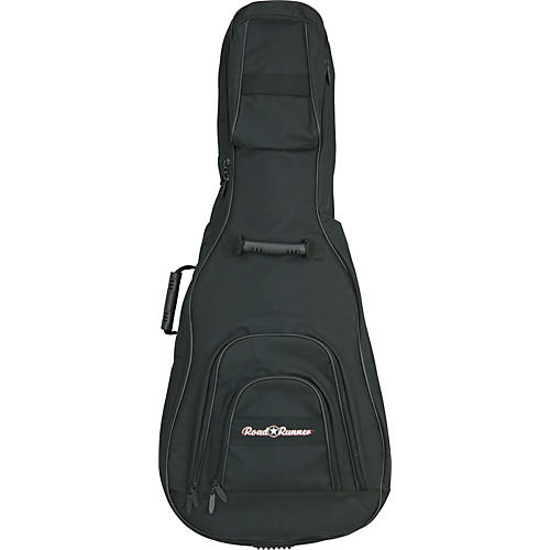 Road Runner Double Electric/Hollowbody Guitar Gig Bag Black