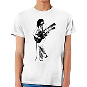 Jimmy Page Double Guitar Icon T-Shirt