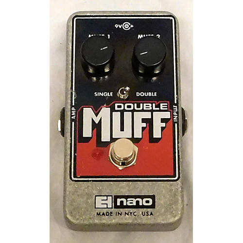 Electro-Harmonix Double Muff Distortion Effect Pedal