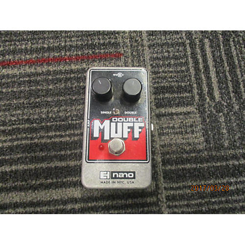 Electro-Harmonix Double Muff Nano Distortion Effect Pedal-thumbnail