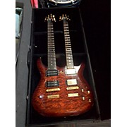 Double Neck 6/7 Solid Body Electric Guitar