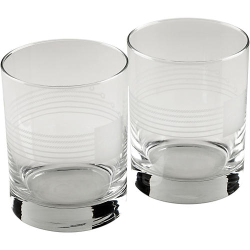 Fender Double Old Fashioned Glasses (Set of 2)