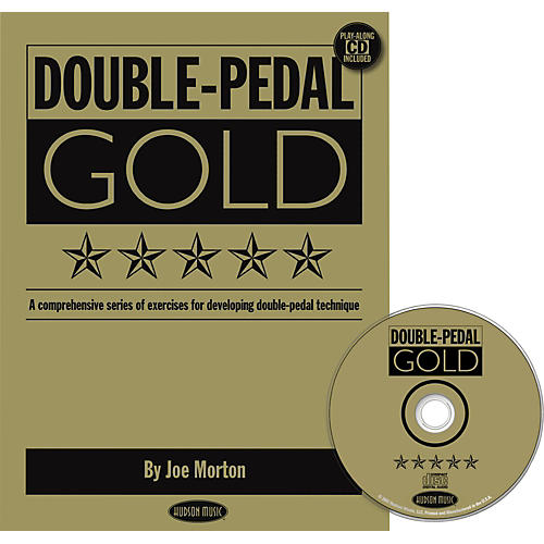 Hudson Music Double Pedal Gold Book and CD-thumbnail