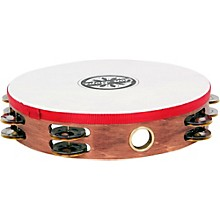Gon Bops Double Row Wooden Tambourine w/Head