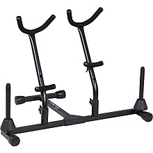 On-Stage Stands Double Saxophone Stand with Two Pegs