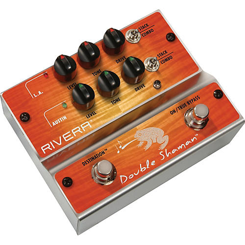 Rivera Double Shaman Overdrive Guitar Effects Pedal-thumbnail