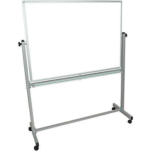 H. Wilson Double-Sided Mobile Whiteboard
