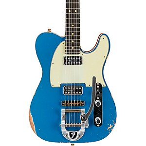 Fender Custom Shop Double TV Jones Relic Telecaster with Bigsby Electric Gu...