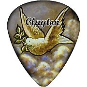 Clayton Dove Guitar Pick 12 Pack